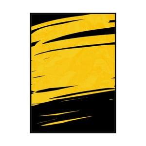 Obraz v ráme z píniového dreva Moycor Masch, 100 x 140 cm