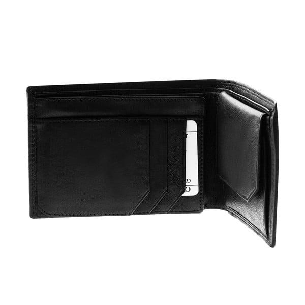 Kožená peňaženka Continuum 1516, dvojité prešívanie