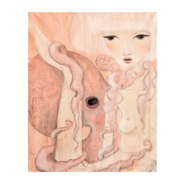 Autorský plagát od Lény Brauner Oktopus, 47x60 cm