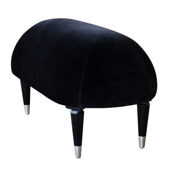 Lavica na sedenie Beetle, čierna