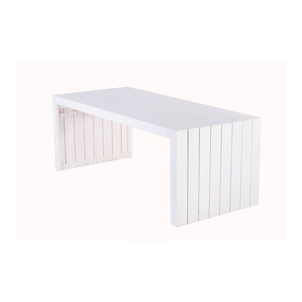 Záhradný stôl Siesta White, 200x88 cm