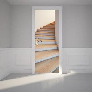 Adhezívna samolepka na dvere Ambiance Modern Stairway, 83 x 204 cm