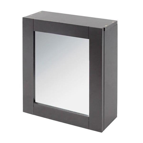 Zrkadlo s úložným priestorom In Grey, 35x30 cm