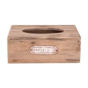 Drevený box na vreckovky Clayre & Eef Lucero