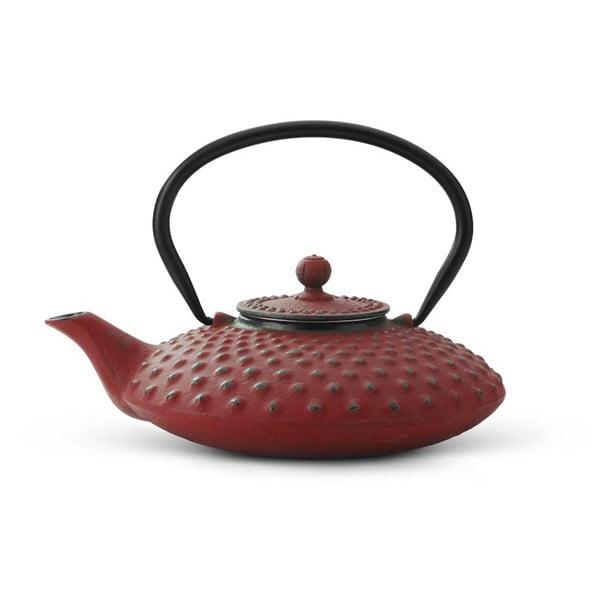 Červená kanvica Bredemeijer Xilin, 0,8 l