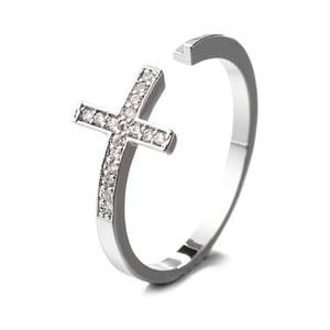 Prsteň s krištáľmi Swarovski Confianza, veľkosť 52