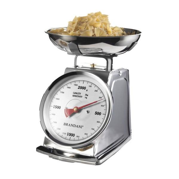 Nehrdzavejúca kuchynská váha Brandani
