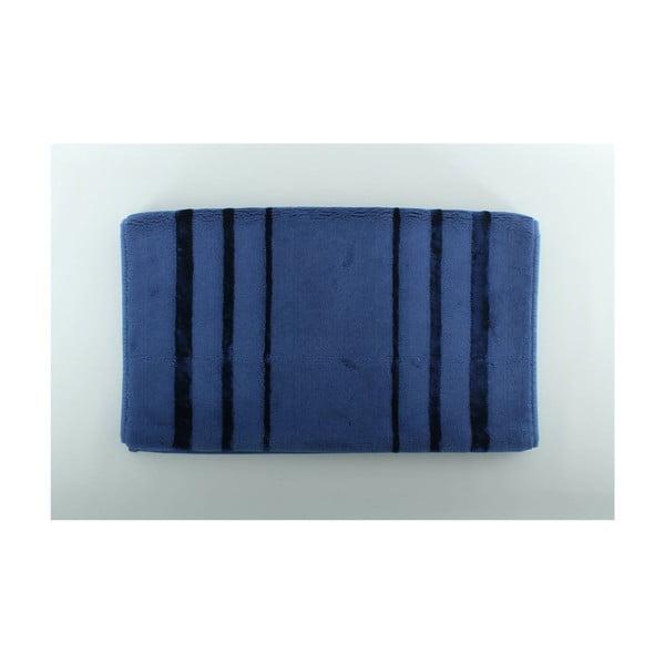 Modrá kúpeľňová predložka U.S. Polo Assn. Charleston, 60 x 100 cm