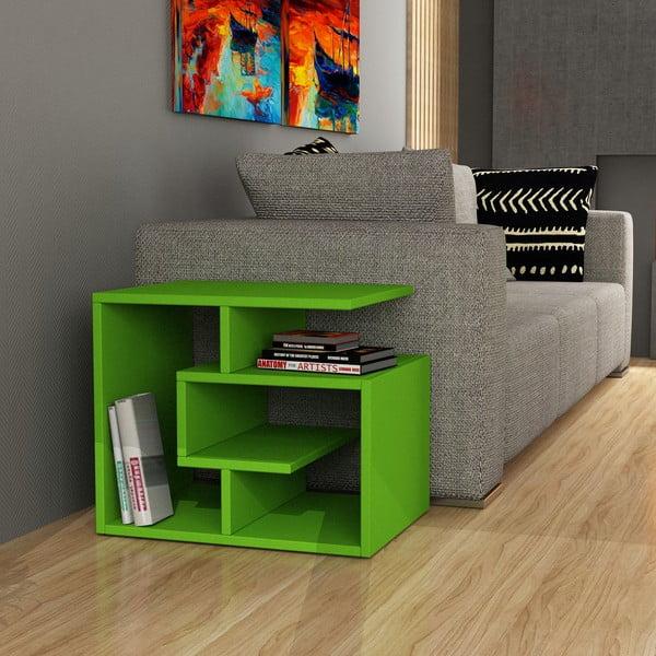Konferenčný stolík k pohovke Labirent, zelený
