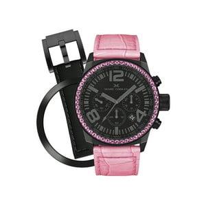 Dámske hodinky Marc Coblen s remienkom a krúžkom na ciferník naviac P42
