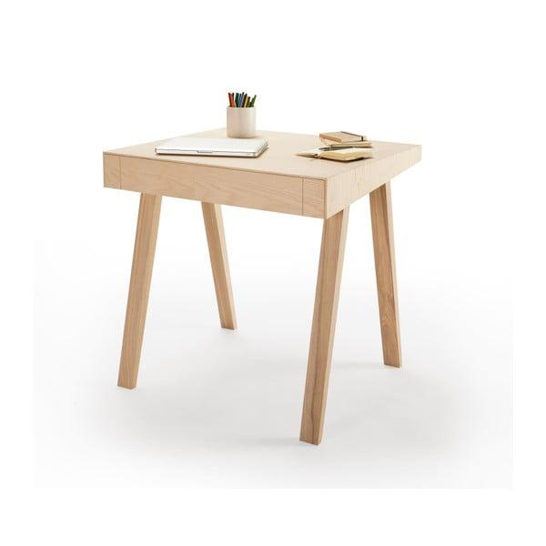 Písací stôl EMKO 4.9, 1 zásuvka, európsky jaseň