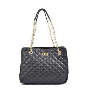 Čierna kožená kabelka Isabella Rhea Marsso