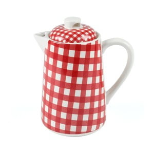 Kanvica na čaj, 1,5 litru, červená