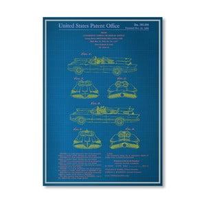 Plagát Batmobile, 30x42 cm