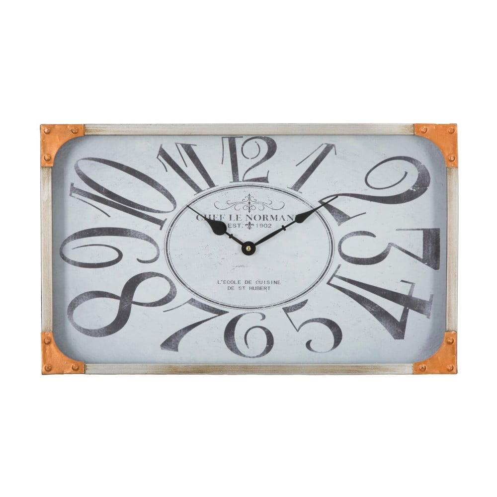 Nástenné hodiny Mauro Ferretti Copper, 50 × 30 cm