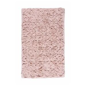 Ružová kúpeľňová predložka  Rose, 70x120cm