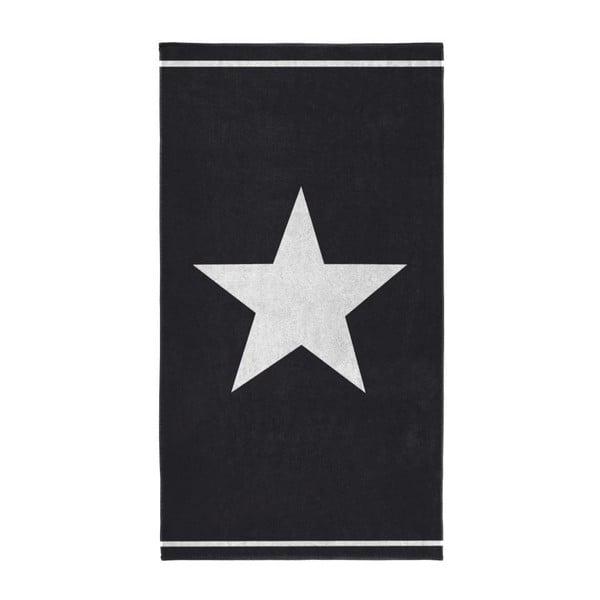 Osuška Star 100x180 cm, čierna