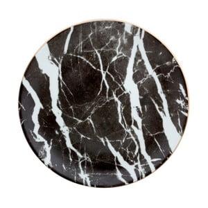 Porcelánový tanier Vivas Marble, Ø28 cm