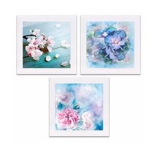 Sada 3 obrázkov Spring Flowers