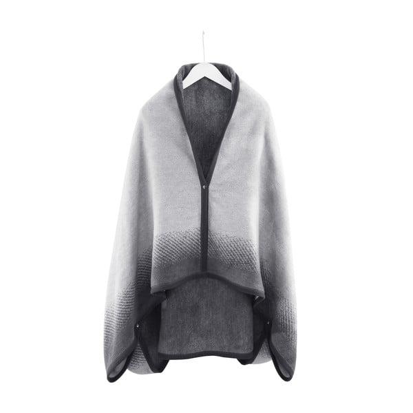 Domáce pončo/deka Black Pearl, 110x170 cm