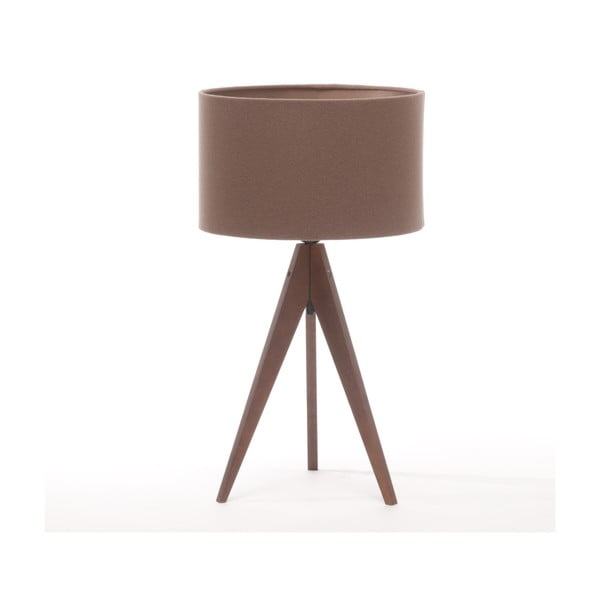 Stolná lampa Arist Dark Taupe/Dark Brown