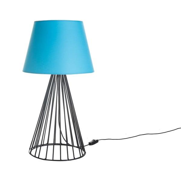 Stolová lampa Wiry Blue/Black