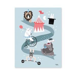 Plagát Michelle Carlslund Circus Friends, 50x70cm