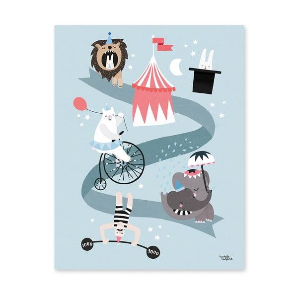 Plagát Michelle Carlslund Circus Friends, 30x40cm