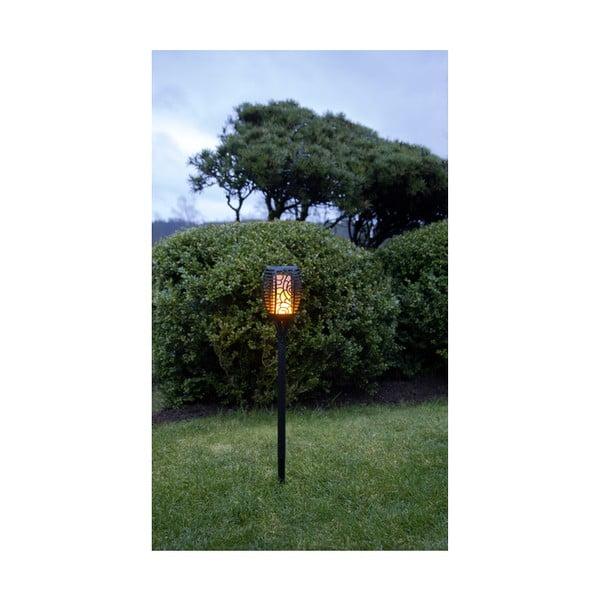 Vonkajšie solárne LED svietidlo Best Season Flame Cone