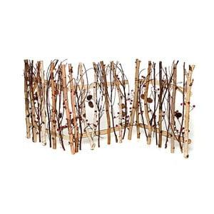 Drevený plôtik Pinecone, 120x49 cm