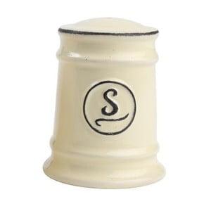 Krémová porcelánová soľnička T&G Woodware Pride of Place