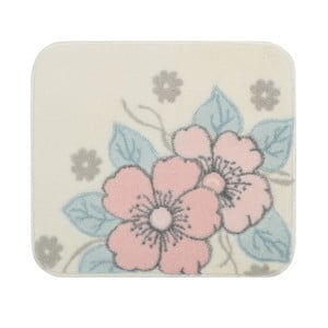Ružová predložka do kúpeľne Confetti Bathmats Paris, 50x57cm