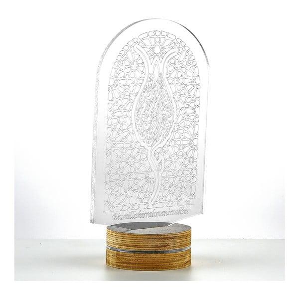 3D stolová lampa Window
