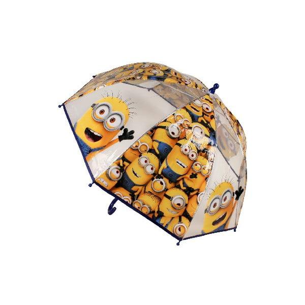 Detský transparentný dáždnik Minions