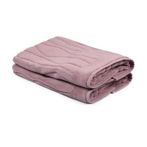 Sada 2 svetloružových uterákov zo 100% bavlny Gartex, 50×75cm