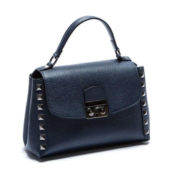 Modrá kožená kabelka Sofia Cardoni Lisa