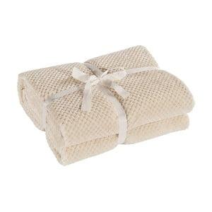 Krémová deka z mikrovlákna DecoKing Henry, 220×240cm