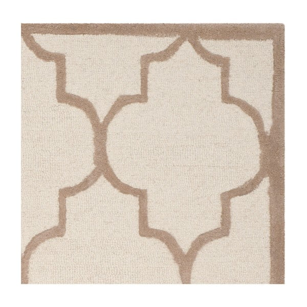 Vlnený koberec  Safavieh Everly Dessert, 121x182 cm