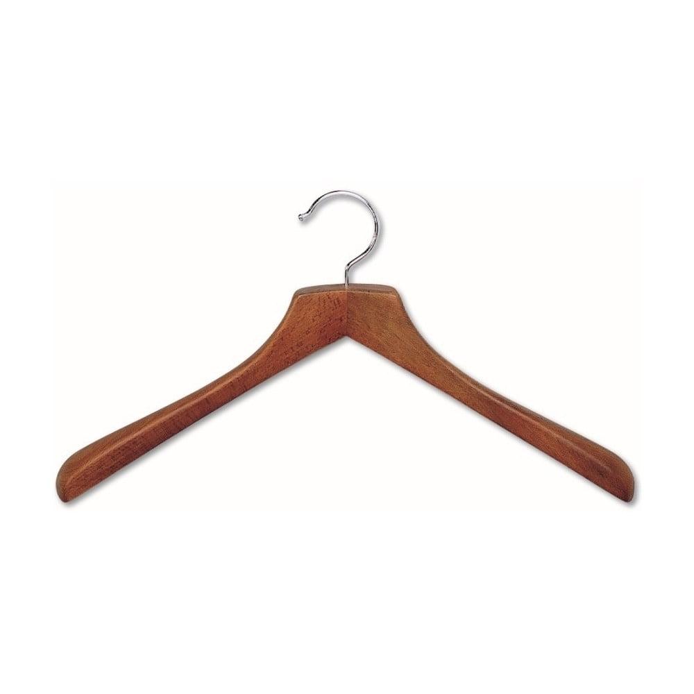 Hnedý vešiak z bukového dreva na kabáty Cosatto Hanger