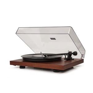 Tmavohnedý gramofón Crosley C10
