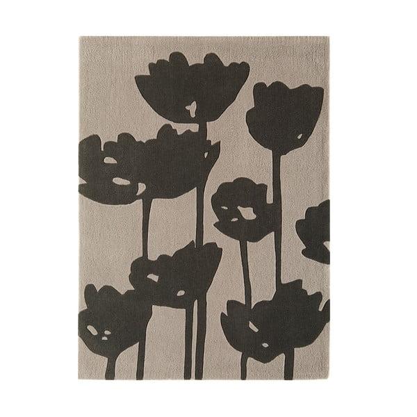 Koberec Harlequin Flower Grey, 120x170 cm