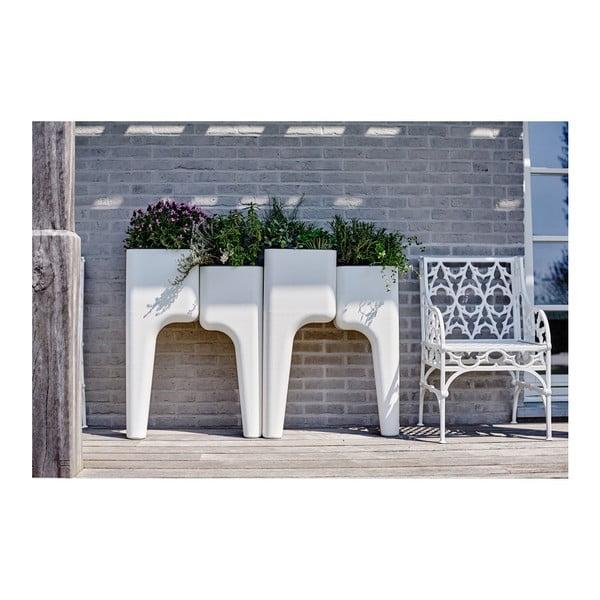 Dizajnový kvetináč KIGA Medium 88x68 cm, levanduľový