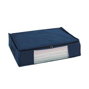 Modrý vákuový úložný box Wenko Air, 50 x 65 x 15 cm