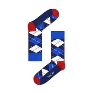 Ponožky Happy Socks Blue Check, veľ. 36-40