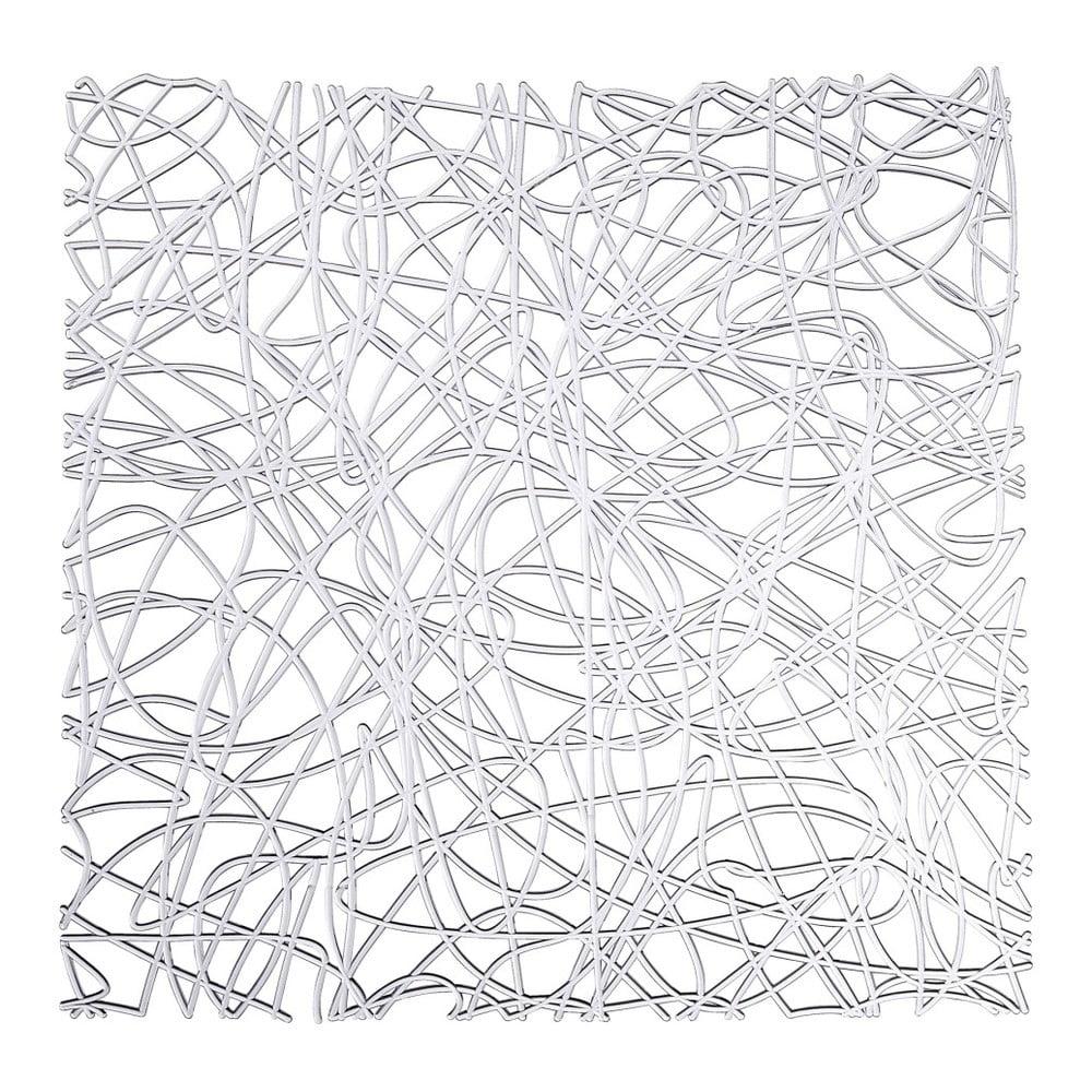 Priehladná podložka do drezu Wenko Sink Mat Cross, 30,5 × 30,5 cm