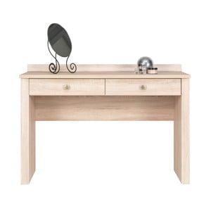 Toaletný stolík v dubovom dekore Maridex Finezja