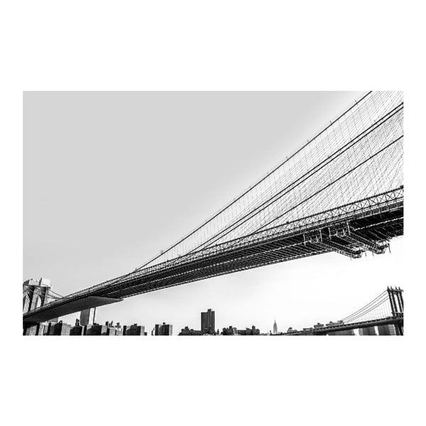 Obraz Black&White Bridge, 45 x 70 cm