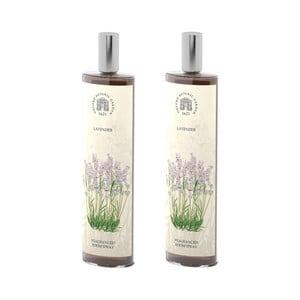 Sada 2 interiérových vonných sprejov s vôňou levandule Bahoma London Fragranced, 100 ml