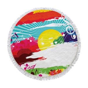 Kruhová plážová osuška La Chanta Payla Round Beach Towel, ⌀1,5m