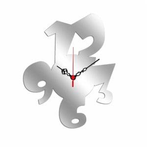 Nástenné zrkadlové hodiny Funky Time